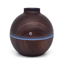 USB Power-Supplied Humidifier Aroma Essential Oil Diffuser,