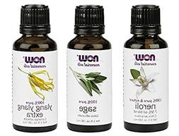3-Pack Variety of NOW Essential Oils: Good Night Sleep- Nero