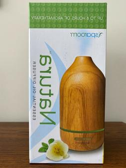 SpaRoom Natura Wooden Essential Oil Diffuser For Therapeutic